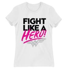 Pamutlabor Wonder Woman Fight like a hero női póló női póló