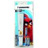 Panasonic Angry Birds elemlámpa 3×AA EGE elem fehér