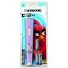 Panasonic Angry Birds elemlámpa 3×AA EGE elem rózsaszín