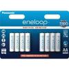 Panasonic ENELOOP 1900 mAh AA Akkumulátor, 8 db (BK-3MCCE/8BE)