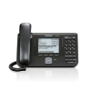 Panasonic KX-UT248NE-B Panasonic KX-UT248NE-B - VoIP phone 6 SIP accounts, G.722, 500 entry phonebook, 2x Gigabit Ethernet, PoE, Wall mounting, Black