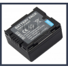 Panasonic VDR-D158GK 7.2V 700mAh utángyártott Lithium-Ion kamera/fényképezőgép akku/akkumulátor