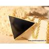 pandoraajandek.hu Fekete háromszög nyaklánc