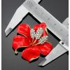 pandoraajandek.hu Piros virág bross