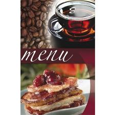 PANTA PLAST Étlaptartó, A5, PANTA PLAST Café , kávé-tea-sütemény (INP3094998) aláírókönyv