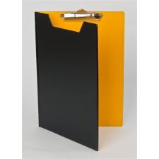 PANTA PLAST Felírótábla, fedeles, A4, PANTAPLAST, fekete-citromsárga felírótábla