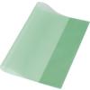 PANTA PLAST Füzet- és könyvborító, A4, PP, 80 mikron, narancsos felület, PANTA PLAST, zöld