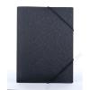 """PANTA PLAST Gumis mappa, 15 mm, PP, A4, PANTA PLAST """"Simple"""", metál fekete (INP4105701)"""