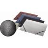 """PANTA PLAST Gumis mappa, 15 mm, PP, A5, PANTA PLAST, """"Simple"""" metál fekete"""