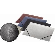 """PANTA PLAST Gumis mappa, 15 mm, PP, A5, PANTA PLAST, """"Simple"""" metál fekete mappa"""