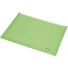 PANTA PLAST Irattartó tasak, A4, PP, cipzáras, talpas, PANTA PLAST, pasztell zöld