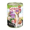 Panzi Állateledel konzerv PANZI FitActive kutyának liba- és nyúlhússal, almával 415 g
