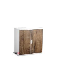 PAPERFLOW Szekrény, rolós ajtós, 2 polcos,paperflow, famintás irodabútor