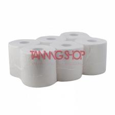 PAPERNET Szolárium papírtörlő [tekercses, kétrétegű, 100% cellulóz, extra fehér színű, 19 cm] higiéniai papíráru