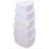 Papírdoboz készlet, nagy és közepes szív alakú dobozok, FEHÉR, 26-23-20-18-16cm