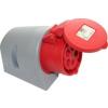 PCE felületre szerelhető ipari dugaszoló aljzat 4 pólusu 16A 380V IP44