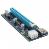 PCI-E Express 1x to16x Extender Riser Card Adapter USB 3.0