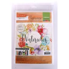 Pentacolor Kft. Pentart Akvarell papír A4 300 g 10 db/csomag 36308 akvarell
