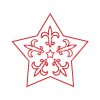 Pentacolor Kft. Pentart Fafigura, 5 db/csomag - csillag 22957