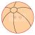 Pentacolor Kft. Pentart Fafigura gomb 23357 – labda 10 db/csomag