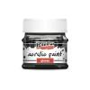 Pentacolor Kft. Pentart Fényes fekete színű akril bázisú hobbi festék 50 ml