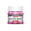 Pentacolor Kft. Pentart Metál magenta színű akril bázisú hobbi festék 50 ml