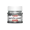 Pentacolor Kft. Pentart Metál rokokóezüst színű akril bázisú hobbi festék 50 ml