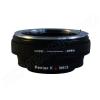 Pentax K-M4/3 (aperture) bajonett átalakító gyűrű