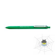 Pentel Golyóstoll PENTEL iZee nyomógombos 0,35 mm zöld toll