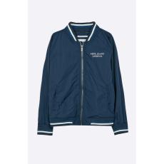 Pepe Jeans - Gyerek bomberdzseki Wallace 122-180 cm - kék - 1258674-kék
