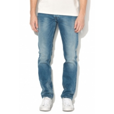 Pepe Jeans London , Spike középmagas derekú regular fit farmernadrág, Kék, W38-L32 (PM200029GD4-000-W38-L32)