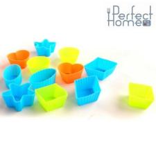 Perfect home 11442 Jégkocka készító.12 db szilikon konyhai eszköz