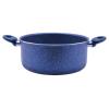 Perfect home 12588 Tapadásmentes bevonatos lábas kék márványos 24 cm
