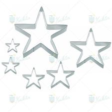 Perfect home Sütikiszúró szett csillag 6db konyhai eszköz