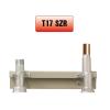 Perogáz Peró Gáz T17 SZ R 22 Fali mérő szerelősín réz 22, burkolat nélkül