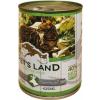 PET'S LAND Cat konzerv vadhússal és répával (24 x 415 g) 9.96kg