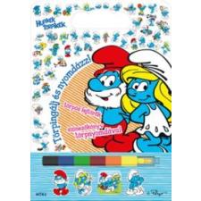 Peyo Törpingálj és nyomdázz! gyermek- és ifjúsági könyv