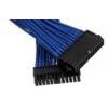 PHANTEKS 24-Pin ATX hosszabbító 50cm - harisnyázott kék