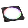 PHANTEKS Halos 120mm-keret RGB-LED - fekete (PH-FF120RGBP_BK01)