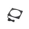 PHANTEKS Halos Lux 120mm-keret, RGB-LED - Alu, fekete (PH-FF120RGBA_BK01)