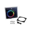 PHANTEKS Halos Lux 140mm-keret, RGB-LED - Alu, fekete (PH-FF140RGBA_BK01)