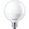 """Philips LED izzó, E27, gömb, 9,5W, 806lm, 2700K, G93,  """"CorePro"""""""