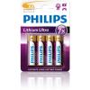 Philips Lithium Ultra AA elem - 4 db (FR6LB4A/10)