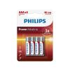 Philips LR03P4B/10 - 4 db alkáli elem AAA POWER ALKALINE 1,5V