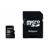 Philips microSDHC Philips 8GB class10+ adapter (FM08MP45B)