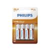 Philips R6L4B/10 - 4 db cink-klorid elem AA LONGLIFE 1,5V