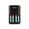 Philips SCB1450NB/12 - akkumulátor töltő MULTILIFE 4xAAA 800 mAh 230V