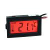 Phobya Hőmérő digitális kijelzővel - piros