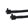 Phobya SATA 3.0 csatlakozókábel, 30 cm-es biztonsági hevederrel - fekete