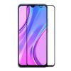 Picasee 3x 3D üvegfólia kerettel az alábbi mobiltelefonokra Honor 9A - fekete - 2+1 ingyen